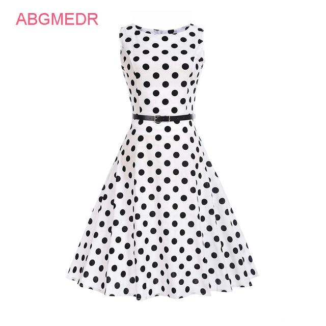 33e89cf27e64 ABGMEDR Brand New Teenage Girls Clothing Big Girls Dresses Summer 2017  Teenagers Dress Teen Kids Dots Printed Clothes Vestidos