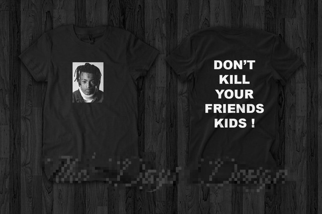 c8bc5ffcb5e4 XXXTENTACION Revenge Dont KIll Your Friends Kids Memorable T shirt Tee New  2018 Cotton Short-Sleeve T-Shirt