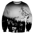 New Fashion Mens/Womens Snow Mountain 3D Print Sweatshirt Hoodies S M L XL XXL 3XL 4XL 5XL 6XL