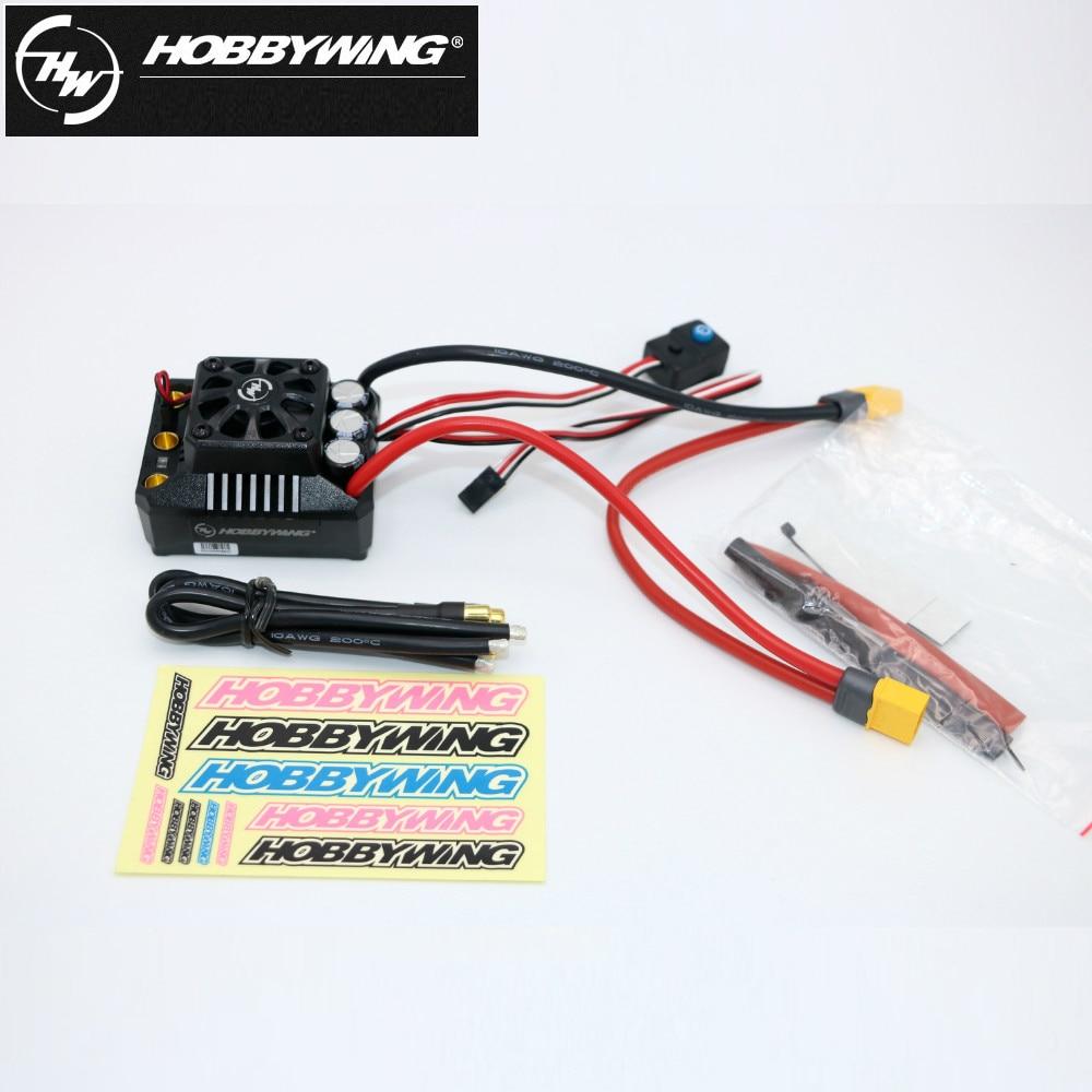 1 шт. оригинальный Hobbywing EZRUN Max6 V3 160A Скорость контроллер Водонепроницаемый бесщеточный ESC XT60 Plug/T разъем для 1/6 RC автомобиль