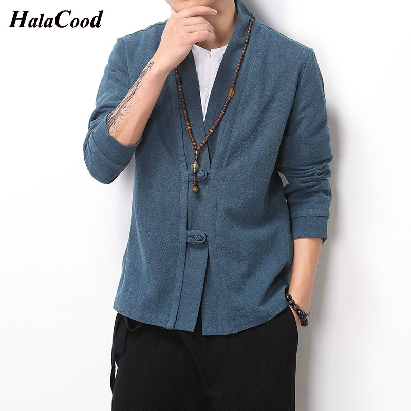 New Fashion High Quality Chinese Style Cotton Linen Casual Coat Spring NewStyle Mens Cardigan Jacket Plus Size Loose Coat Fat