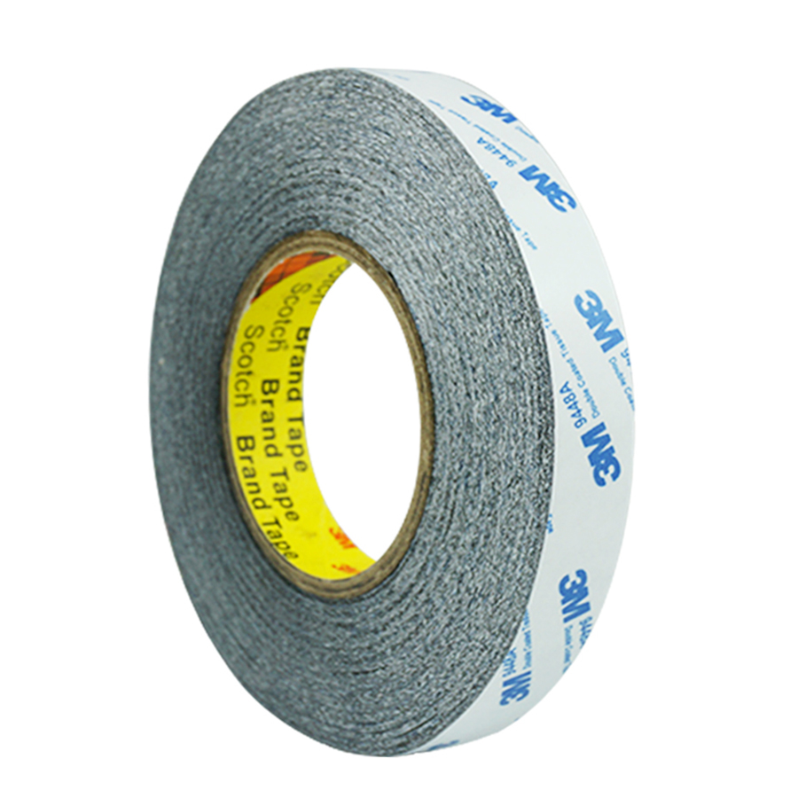 1/2/3/5mm 50 meters 3M 9448AB Black Double Sided Adhesive Tape for Smartphone Tablet LCD Touch Screen Display Repair