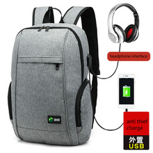 Multifunction Male Leisure Backpacks USB Charge Anti Thief Backpacks Laptop&computer Mochila Travel Schoolbags Waterproof Bags