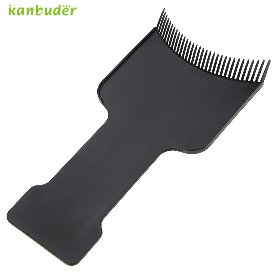 Kanbuder Professional Hairdressing Hair Dye Color Brush Fashion Hairdressing Pick Color Board Pretty Salon Dye Plate Tools