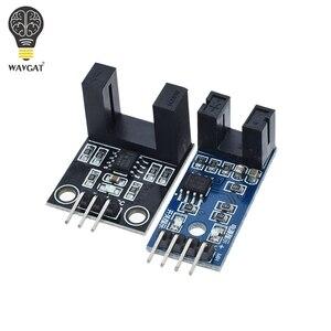 Módulo de sensor de velocidade tacho sensor slot-tipo optoacoplador tacho-gerador contador módulo para arduino 51 avr pic 3.3v-5v kit diy