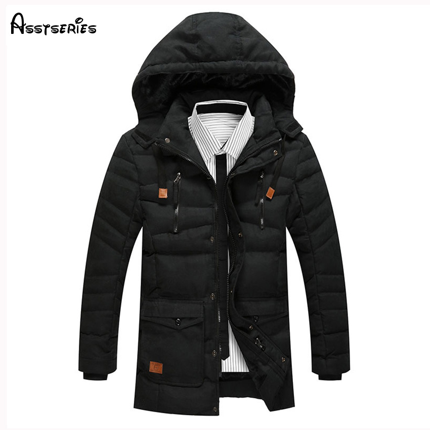 Winter Jacket Men Casual Cotton Thick Warm Coat Men's Outwear Coat Plus Size 3XL Coats Windbreak Snow Parka Jackets D130 winter jacket men warm coat mens casual hooded cotton jackets brand new handsome outwear padded parka plus size xxxl y1105 142f