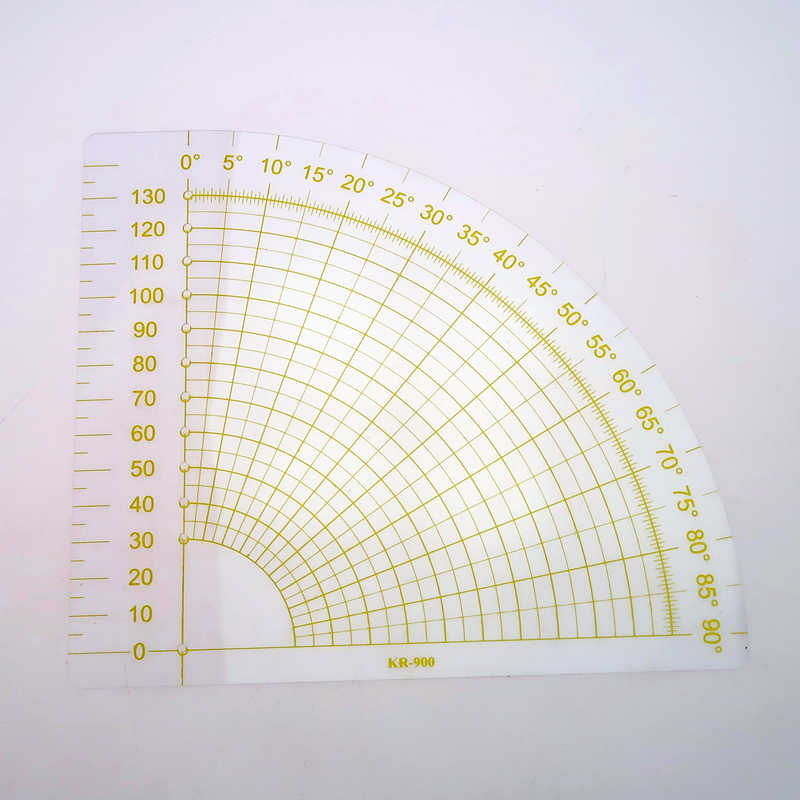 Tailor Sewing Tools Quilting Patchwork Scrapbook Circle Fan Foot Ruler DIYCrafQP