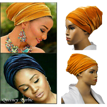 2017Queency New Fashion High Quality, soft African Headtie headwrap, African turban, Women's Accessories,  Women's headtie.
