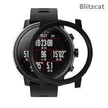 Boîtier de montre pour Huami Amazfit Stratos 2 coque de protection pour Huami AMAZFIT Stratos 2S accessoires de montre boîtier dordinateur