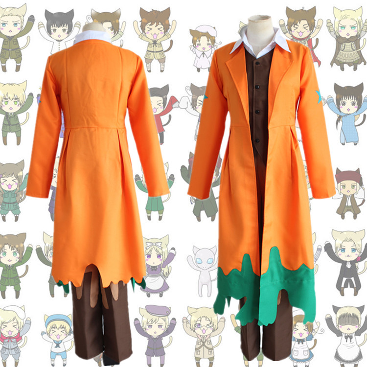 U.S.A Alfred F Jones cosplay costumes Japanese Japanese anime Hetalia Axis Powers cosplay clothes