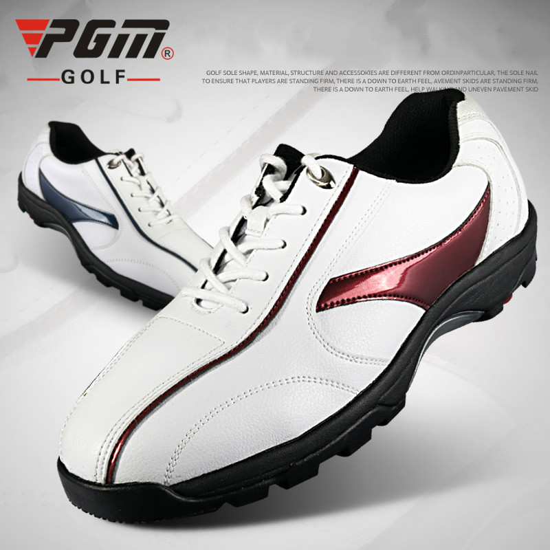 PGM Genuine Golf Shoes Men's Super Anti-skid Waterproof Breathable Shoes For Men One Size US 7 цена