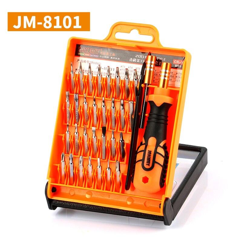 JAKEMY JM-8101 Laptop Screwdriver Set Professional Repair Hand Tools Kit for Mobile Phone Computer Electronic Model DIY Repair
