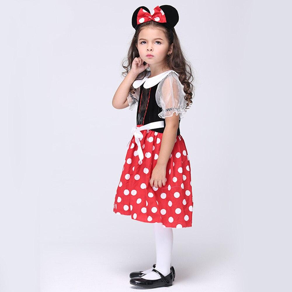 Weihnachten Minnie Maus rollenspiel Kostüm Für Mädchen Maskerade ...