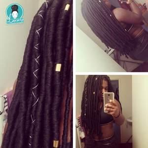 Image 3 - Braiding 14 번들을위한 럭셔리 번들 당 70g Brazilian wool hair low temprature 난연성 합성 섬유 상자 용 braids