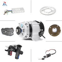 48V 500W Electric Motor For Motorcycle bldc Motor Electric Bike Conversion Kit Brushless Gear Hub Motor bicicleta electria