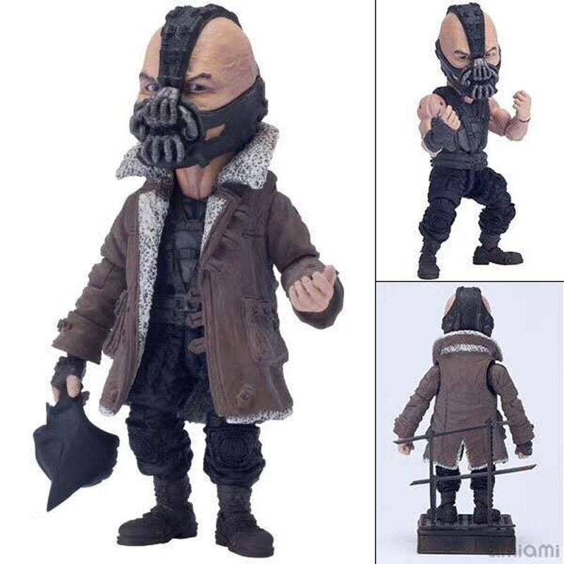 Batman Bane The Dark Knight Joker Bane PVC Action Figure Collectible Model Toy (eyes can move) 14cm naruto kakashi hatake action figure sharingan ver kakashi doll pvc action figure collectible model toy 30cm kt3510