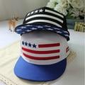 New Arrival 2016 Fashion Unisex Snapback Cap American flags Pentagram Embroidery Casual Hip-hop Hats Baseball Caps For Men Women