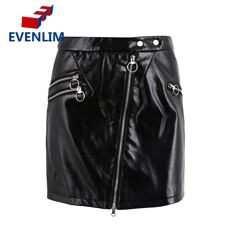 Online Buy Wholesale leather circle skirt from China leather ...