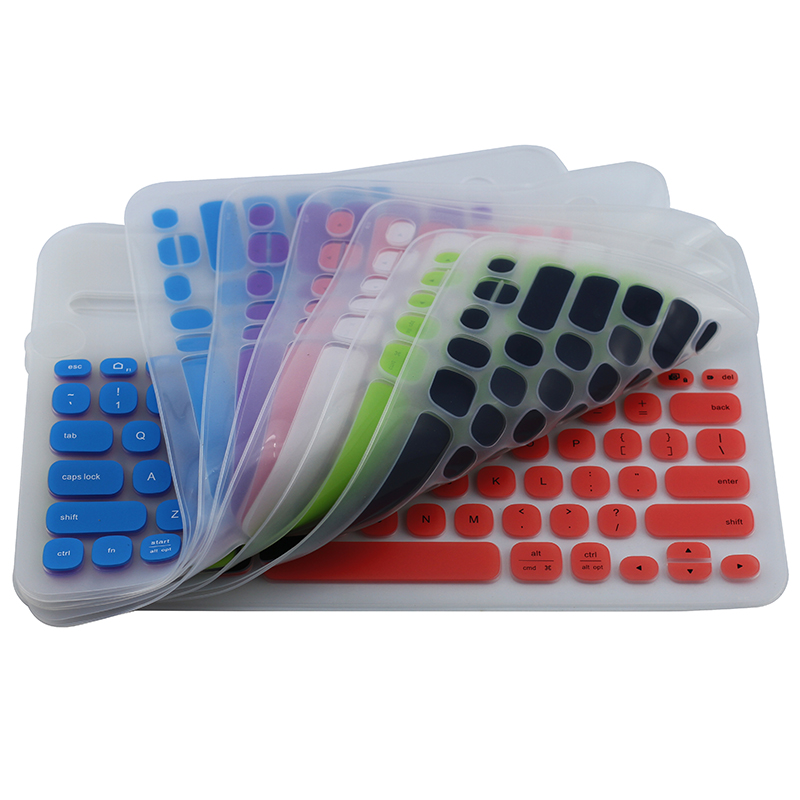 Waterproof Keyboard Cover Lightweight Comfortable Colorful Waterproof Computer Keyboard Film For Logitech K480 Keyboard