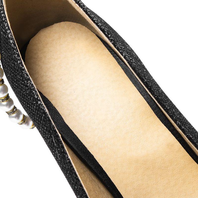 Zapatos 12 21 oro plata Bombas Dedo Mujeres Sexy Más Cm Mujer 31 Negro Altos De Blxqpyt Fiesta Tacones Del Tamaño 10 45 Pie Desnudos Punta Boda Moda axg4aqwvp
