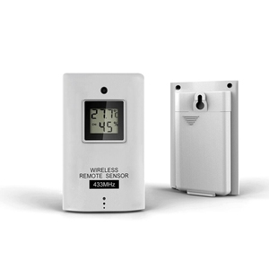 Image 5 - Wireless Weather Station Smart Thermometer Hygrometer Indoor Temperature Humidity Meter Color LCD Weather Forecast Clock Alarm