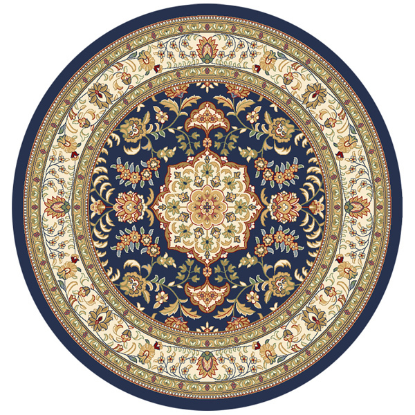 Fashion Classic Persian Rugs Round Carpet Blanket Circle
