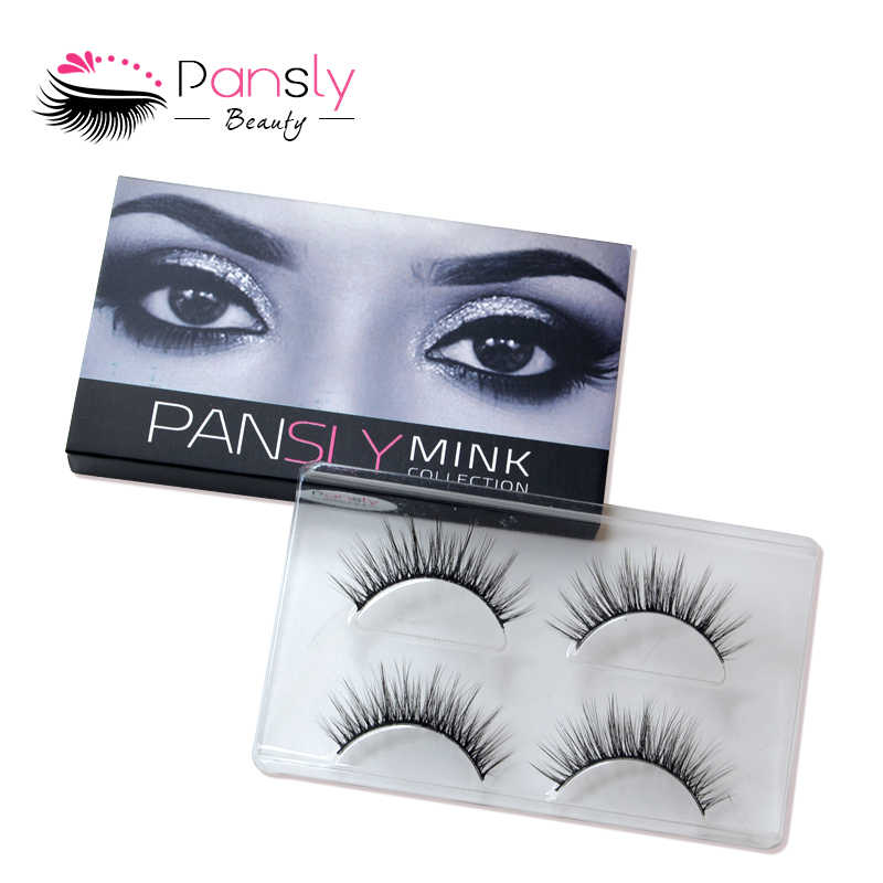 fc2c9d2fc2f ... Pansly 3D Mink Eyelashes Bulk Pillow Lashes Russian Volume Eyelash  Extension Wispy Lashes False Lashes US ...