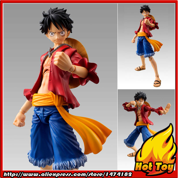 100% Original MegaHouse Variable Action Heroes Action Figure - Monkey D. Luffy from ONE PIECE japanese anime one piece original megahouse mh variable action heroes vah action figure monkey d luffy