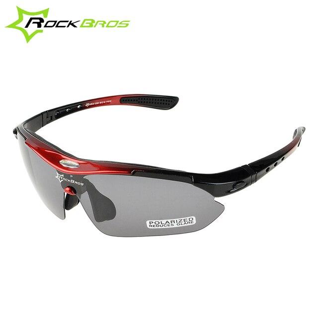c6476355c4 Hot! RockBros Polarized Cycling Sun Glasses Outdoor Sports Bicycle Glasses  Bike Sunglasses TR90 Goggles Eyewear 5 Lens  10001