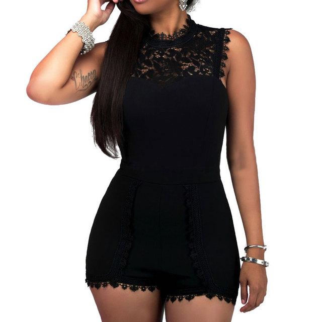 Sexy Women's Round-Neck Bodysuit