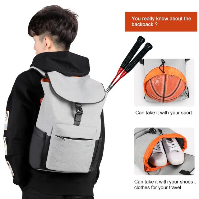 Tigernu 2019 Casual High Quality Men Backpacks Travel Bags Fashion Multifunction Waterproof School Backpacks For Teenager Sport 1