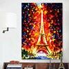 Coloring By Numbers Eiffel Tower Modular Painting Romantic Paris Digital Paint By Numbers Diy Oil Painting