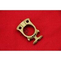 DICORIA Hercules beetle SFK brass bottle opener single ring self defense perforation outdoor survival pocket EDC knuckle tools