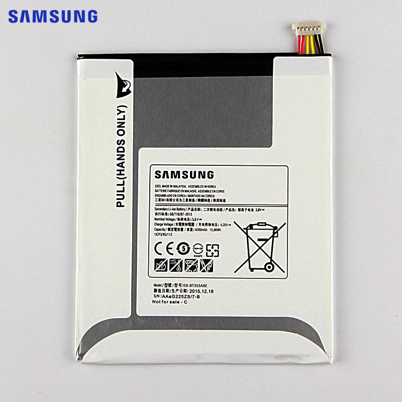 SAMSUNG Original Replacement Battery EB BT355ABE For