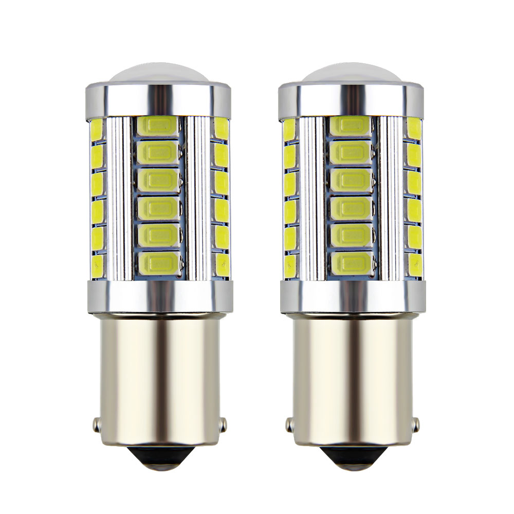 1piece 1156 BA15S P21W 33 Led 5630 5730 Smd Car Tail Bulb Brake Lights Auto Reverse Lamp Daytime Running Light Red White Yellow nao 2x p21w led car 1156 led ba15s p21w s25 18 led 3030 chips 6000k white red yellow brake lights reverse lamp drl car tail bulb