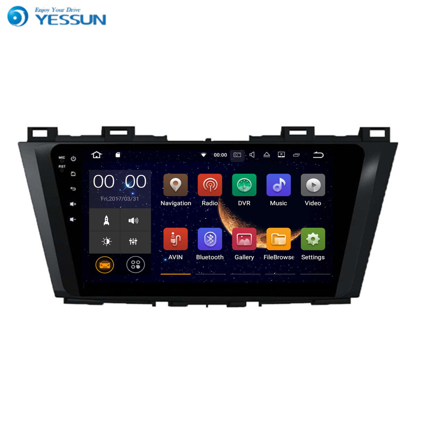 YESSUN Android Radio Car Player For Mazda 5 2010~2013 Stereo Radio Multimedia GPS Navigation With WIFI Bluetooth AM/FM