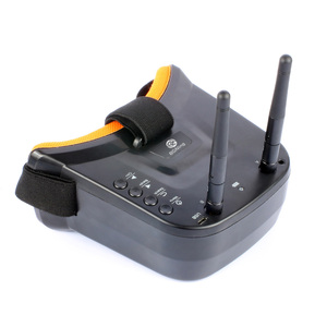 Image 3 - BGNing FPV Goggles 3 inch 480 x 320 Display Double Antenna 5.8G 40CH Built in 3.7V 1200mAh Battery for Racing Drone