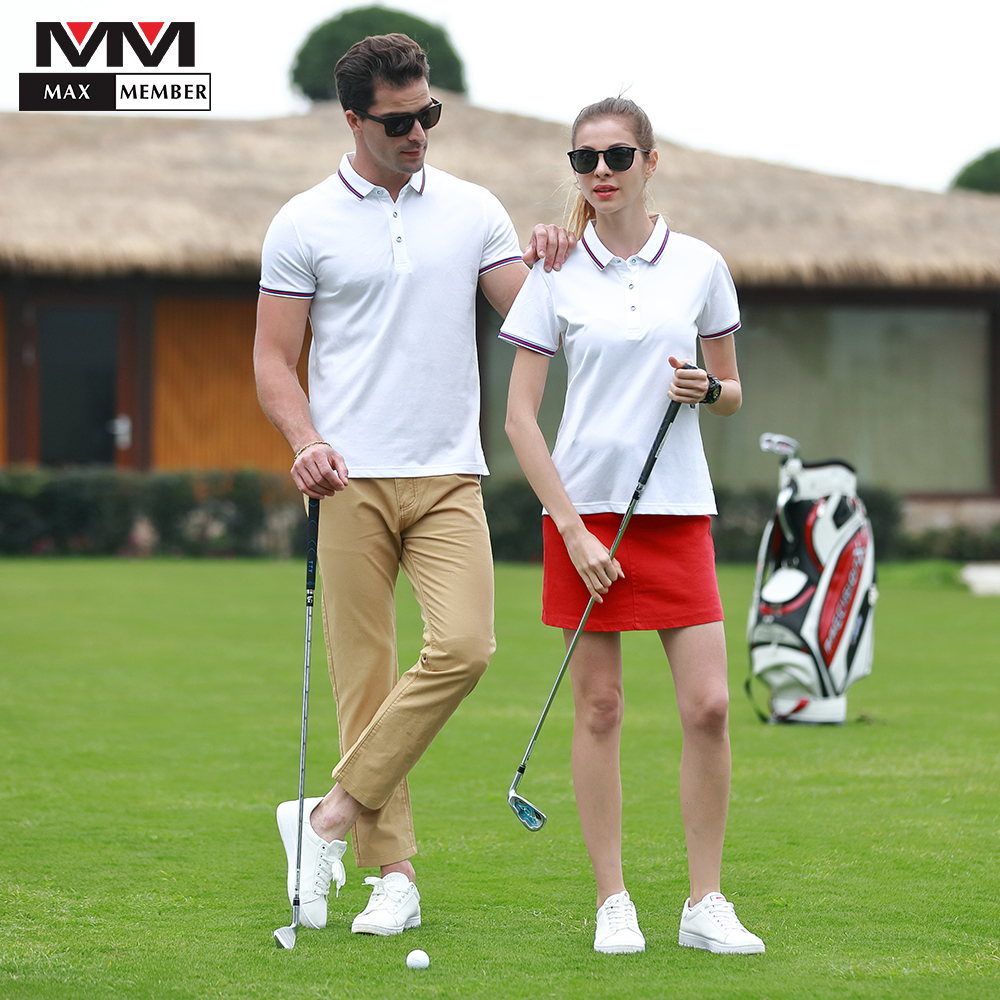 Couple Wear Sports Casual Lapel Wholesale Breathable Polo Shirt Tennis Friends Gifts Hote Waiter Work Uniform Name Print Tops