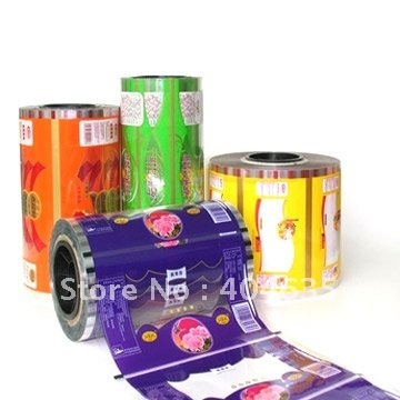 Food laminated film/8 colour printing/high compatibility to auto-packing machines
