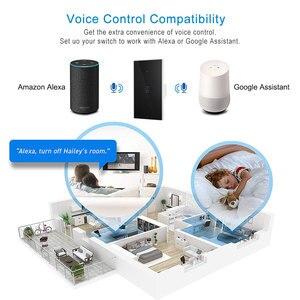 Image 5 - Умный котельный переключатель, 1 шт., Wi Fi, водонагреватель, управление через приложение Ewelink, голосовое управление Echo Home, стеклянная панель