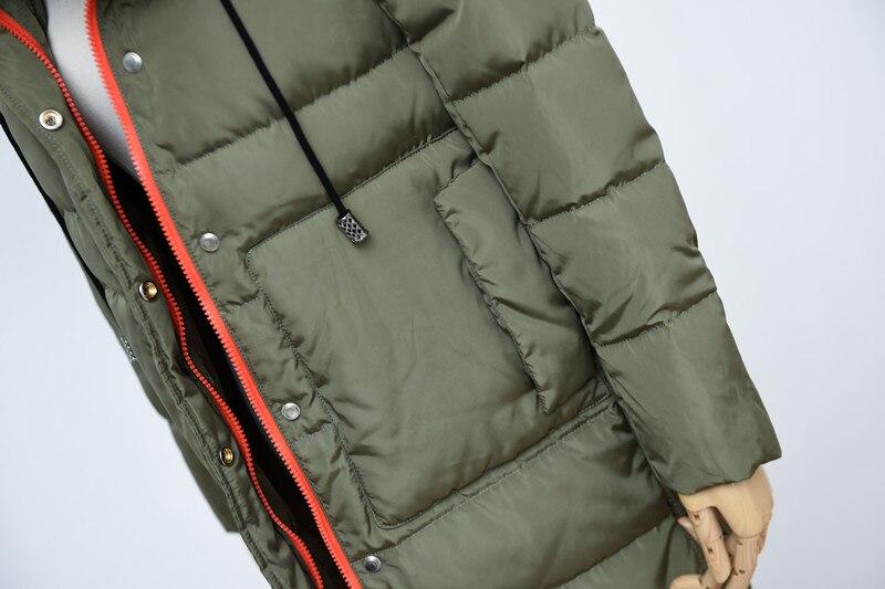 Bas Vestes Mode Europe Veste Épaissir Manteau En Qualité Vers Femelle rose De Col Gros Vêtements Le Femmes Noir Parka army Haute Fourrure 2017 Green ZXwqE7O4