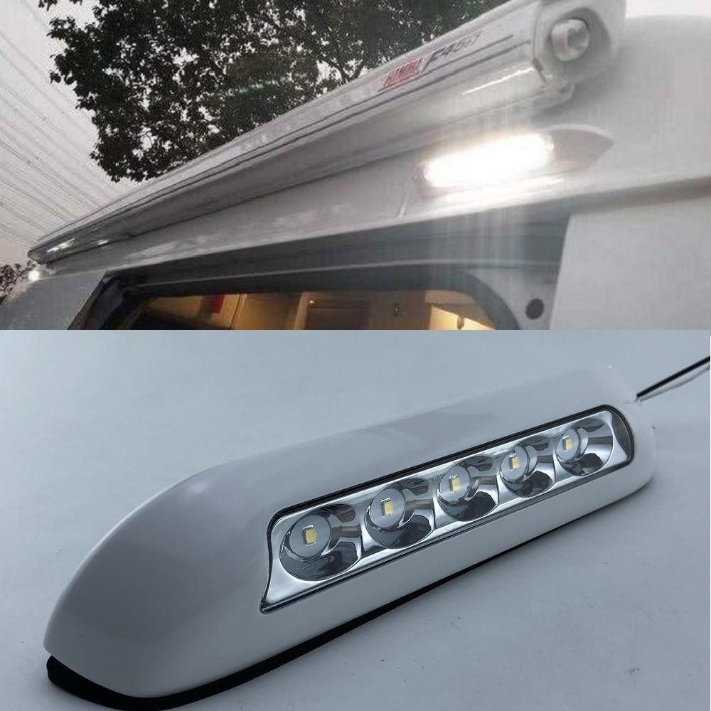 RV LED Outdoor Exterior Porch Light 12V Outside Lighting Fixtures Camper New US