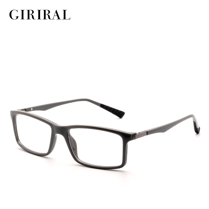 TR90 גברים משקפיים מסגרת רטרו אופטי קוצר ראיה מעצב מותג ברור משקפיים מסגרת # FD1042