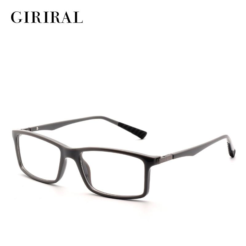 TR90 vīriešu brilles rāmja retro optisko dizaineru tuvredzība zīmola skaidrs brilles rāmis # FD1042