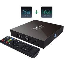 Новейшие S905X X96 Android 6.0 smart TV Box Amlogic Quad Core 2 ГБ/16 ГБ WI-FI 4 К 1080 P Smart TV Media Player set top box Много Moives