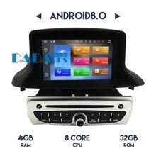 Lecteur DVD GPS Navigation pour Renault Megane 3 Fluence 2009-2015  Plus récent Android 8.0 7.1 Audio Stéréo unité Multimédia