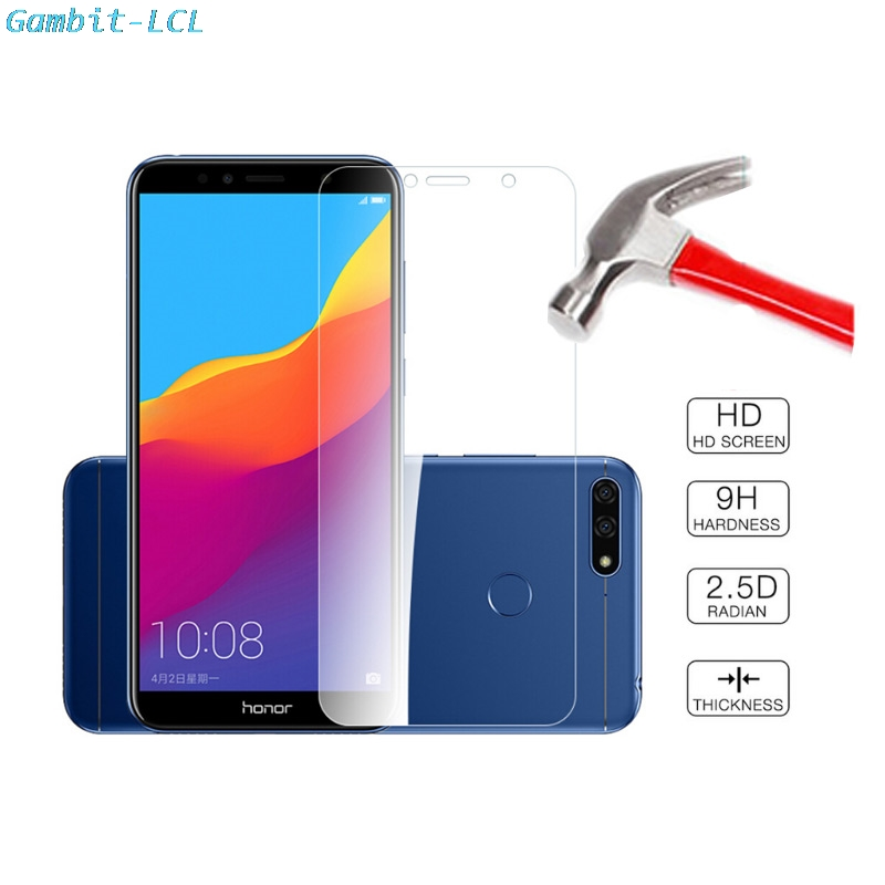 2pcs Tempered Glass <font><b>For</b></font> <font><b>Huawei</b></font> Y5 Prime 2018 Y5 Lite 2018 <font><b>DRA</b></font>-LX5 <font><b>DRA</b></font>-L21 <font><b>DRA</b></font>-<font><b>LX2</b></font> <font><b>For</b></font> Honor 7S Screen Protector Protective Film image