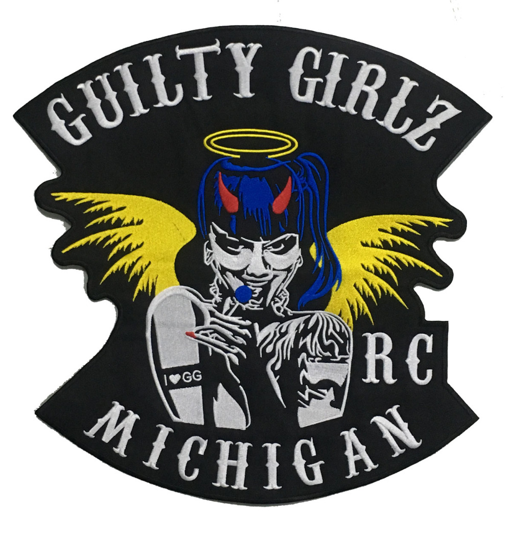 LTY GIRLSBIKER RC MICHIGAN MOTORCYCLE CLUB PATCH (1)