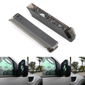 Image 5 - 2 Cái Năng Động Gương Chiếu Hậu Ô Tô Đèn LED LED Tín Hiệu Phía Sau Tuần Tự Blinker Đèn Cho Xe Ford F150 Raptor expedit