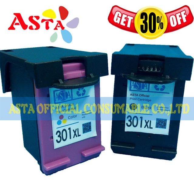 US $21 19 |301XL INK Cartridge For HP Envy 4500 Printer AT12,100% Quality  Test 301 Ink Cartridge-in Ink Cartridges from Computer & Office on